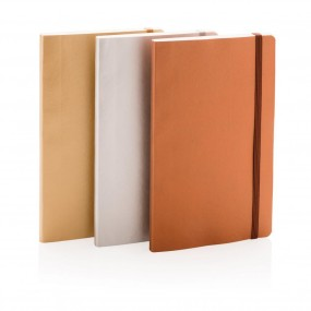 Deluxe metallic softcover notebook A5