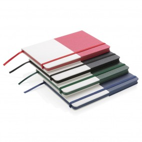 A5 double layered PU notebook
