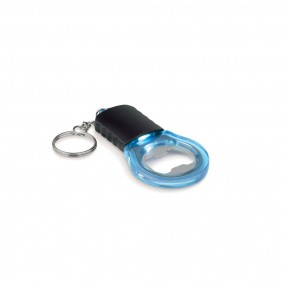 Keyring with bottle opener