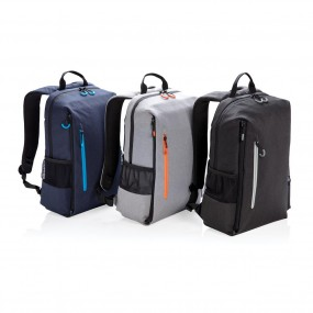 "Lima 15"" RFID & USB laptop backpack"