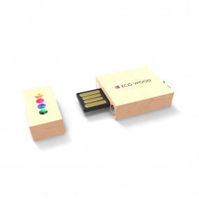 USB zibatmiņa Eco Wood